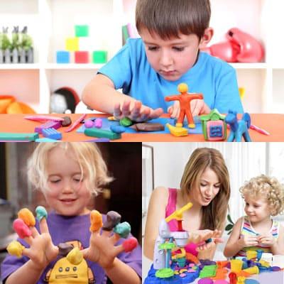 Почему вашему ребенку следует играть с пластилином?